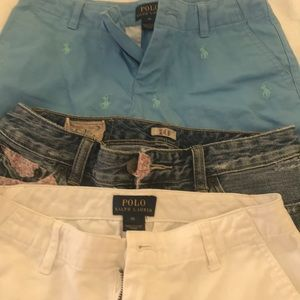 Girls size 10 Polo Ralph Lauren shorts